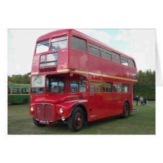 London Transport Routemaster RM 1699 Card