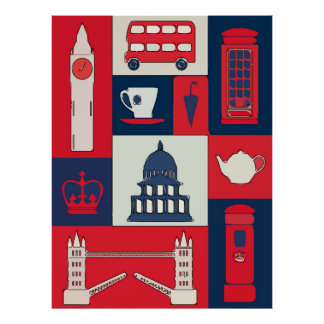 London, Travel Poster