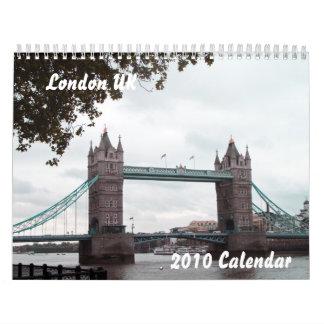 London UK, 2010 Calendar