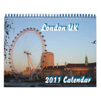 London UK 2011 Calendar