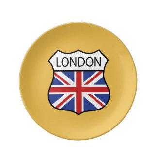 London (UK) Dinner Plate