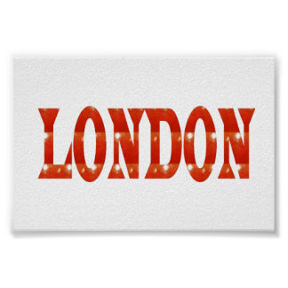 LONDON UK England Europe  Poster Fashion GIFTS