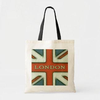 London UK Flag Budget Tote Bag