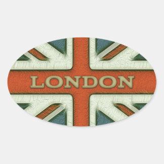 London UK Flag Sticker