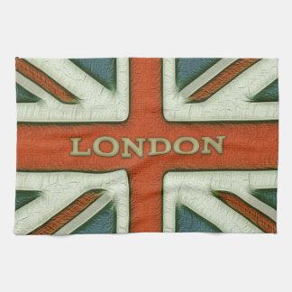 London UK Flag Towel