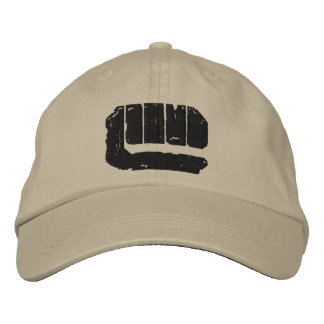 London Underground Logo (black) Embroidered Baseball Cap