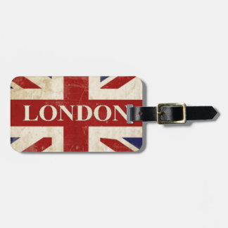 London - Union Jack - I Love London Bag Tag
