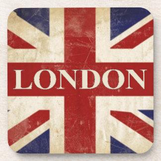 London - Union Jack - I Love London Beverage Coaster