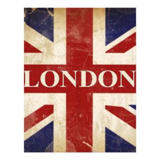 London - Union Jack - I Love London Letterhead