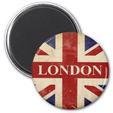 FlagBonanza London - Union Jack - I Love London Magnet