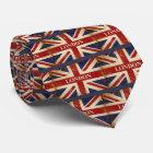 London - Union Jack - I Love London Neck Tie