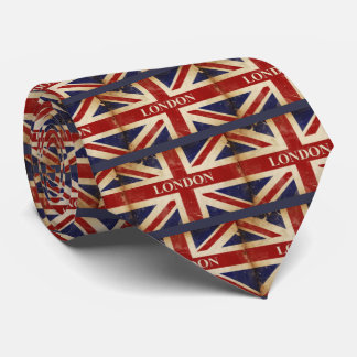 London - Union Jack - I Love London Neck Tie