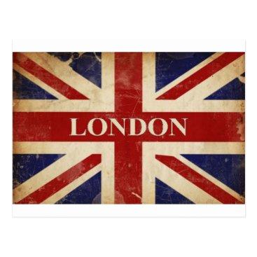 FlagBonanza London - Union Jack - I Love London Postcard