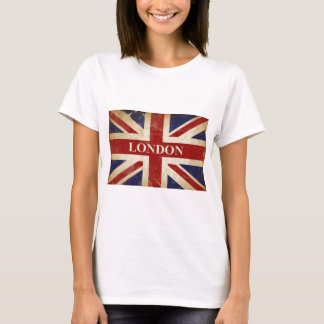 London - Union Jack - I Love London T-Shirt