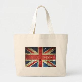 London Union Jack Jumbo Tote Bag