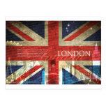London Union Jack Post Card