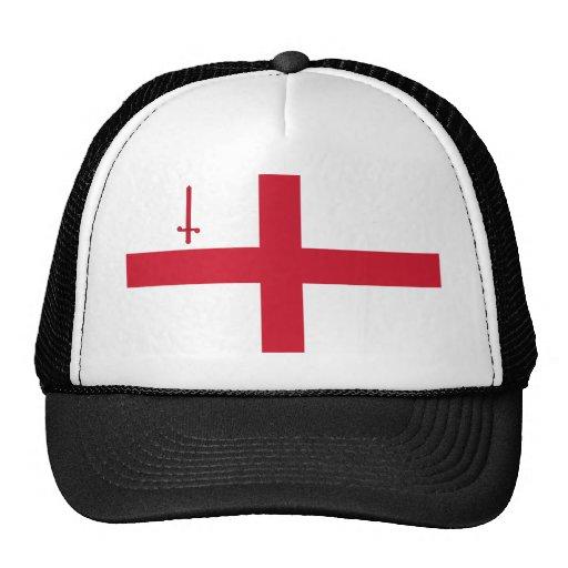 London, United Kingdom flag Trucker Hat