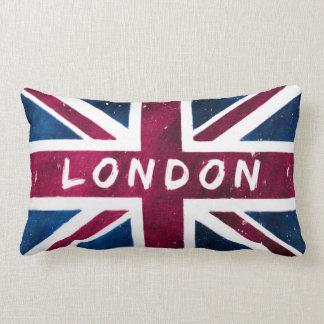 London - United Kingdom Union Jack Flag Pillow