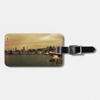 London view bag tag