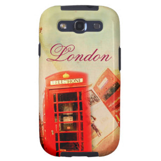 London vintage galaxy s3 cover