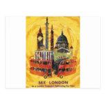 london vintage postal