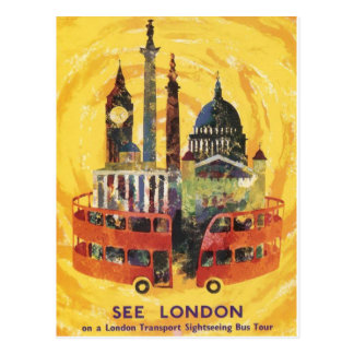 london vintage postales