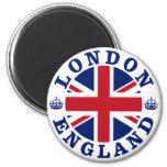 London Vintage UK Design 2 Inch Round Magnet