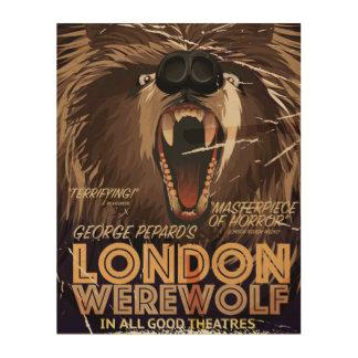 London Werewolf Vintage Movie poster