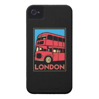 london westminster england art deco retro poster iPhone 4 case