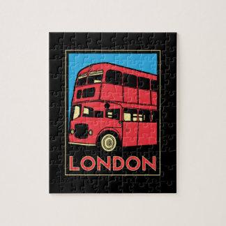 london westminster england art deco retro poster puzzle