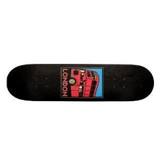 london westminster england art deco retro poster skateboard