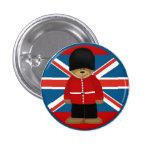 Londonbeary Pin Redondo De 1 Pulgada