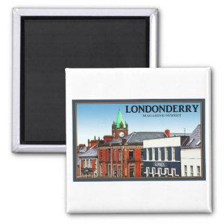 Londonderry/Derry - calle de la revista Imán De Frigorífico