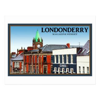 Londonderry/Derry - calle de la revista Postales