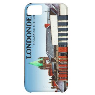 Londonderry / Derry - Magazine Street Case For iPhone 5C
