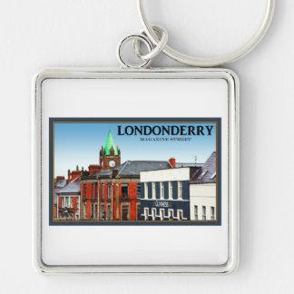 Londonderry / Derry - Magazine Street Keychain