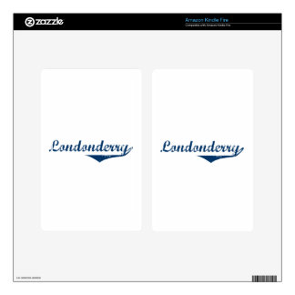 Londonderry Kindle Fire Skin