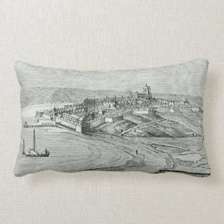 Londonderry, Northern Ireland Throw Pillows