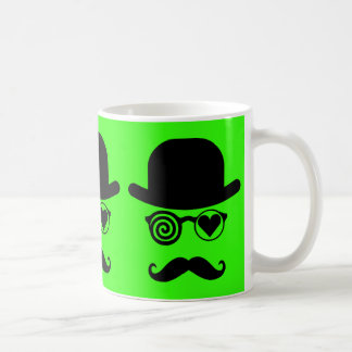 Londoner who fell in love Mustache Big Ben Classic White Coffee Mug
