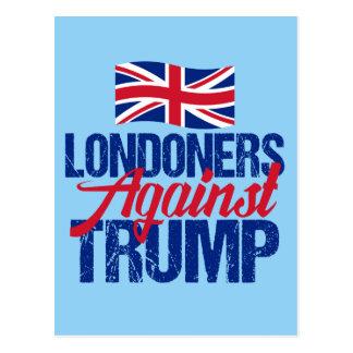 Londoners Against Trump Postcard