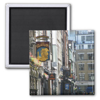 Londonian Street 2 Inch Square Magnet