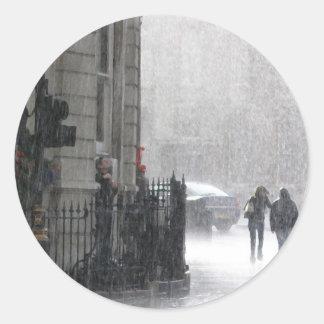 LondonRain Classic Round Sticker