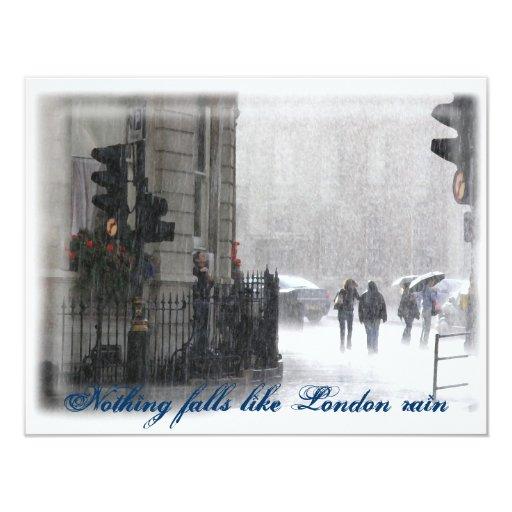 LondonRain Invitaciones Personales
