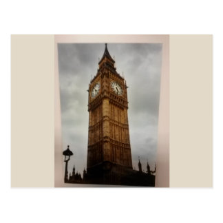 London's Big Ben Postacard Postcard