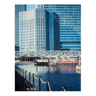 London's Canary Wharf Post Card