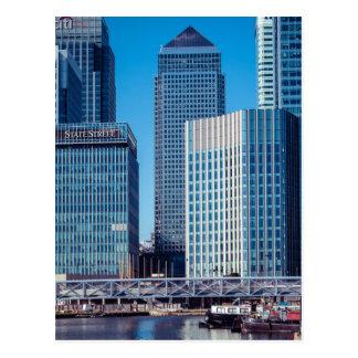 London's Canary Wharf Postcard