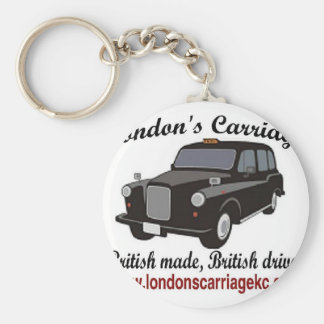 London's Carriage Keychain