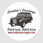 London's Carriage Stickers
