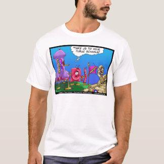 Londons mide el tiempo de camisetas de los dibujos