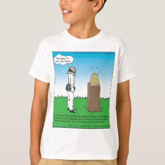 Londons mide el tiempo de camisetas del dibujo camisas